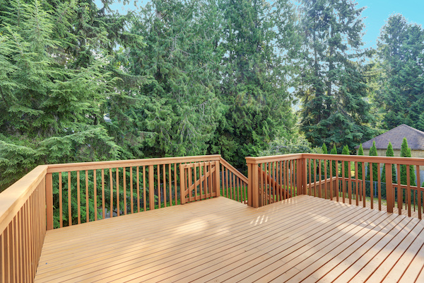 Build a deck for outdoor living, bbqs, dining, play by Harnett Builders