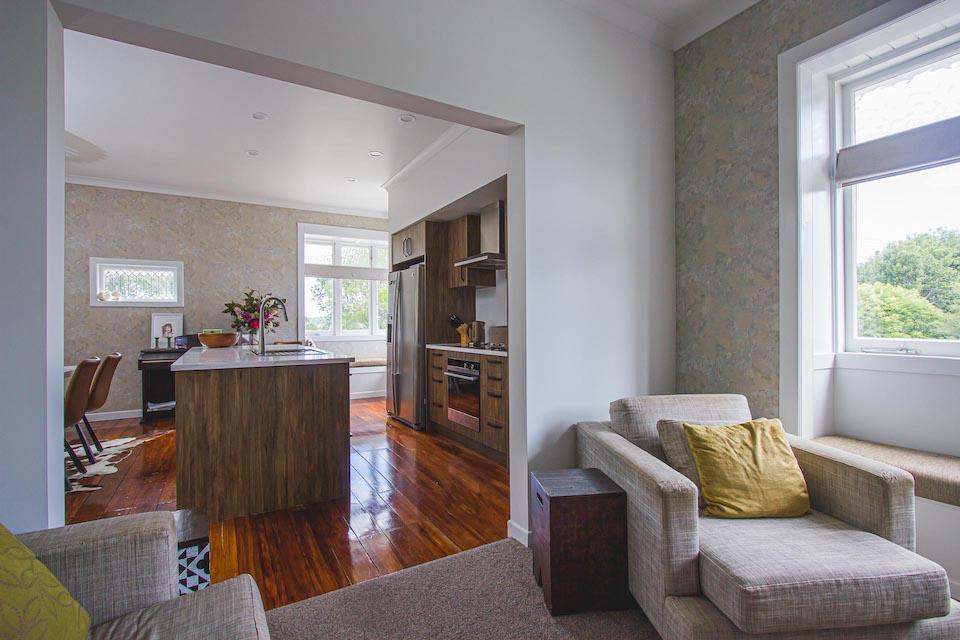 Auckland Builder Harnett Renovation Mt Albert Family room