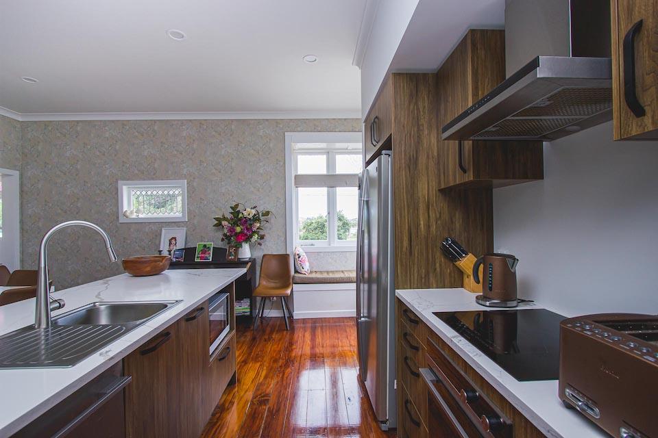 Auckland Builder Harnett Renovation Mt Albert New Kitchen
