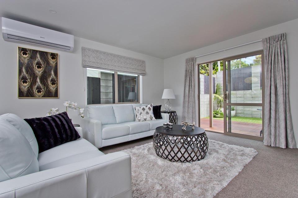 Living room | Mt Albert, New Build Harnett