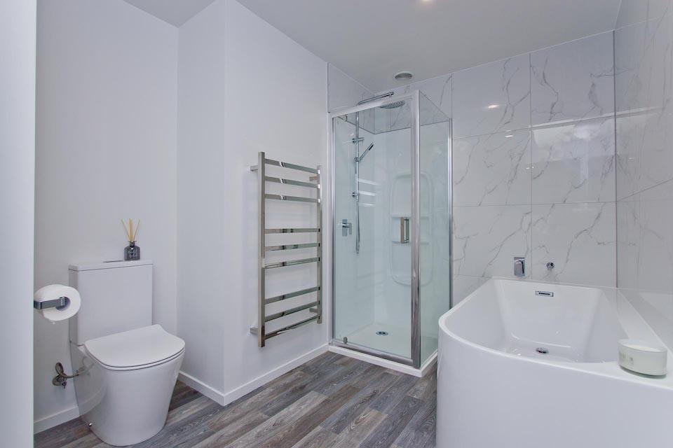 Master bathroom | Mt Albert New Build Harnett