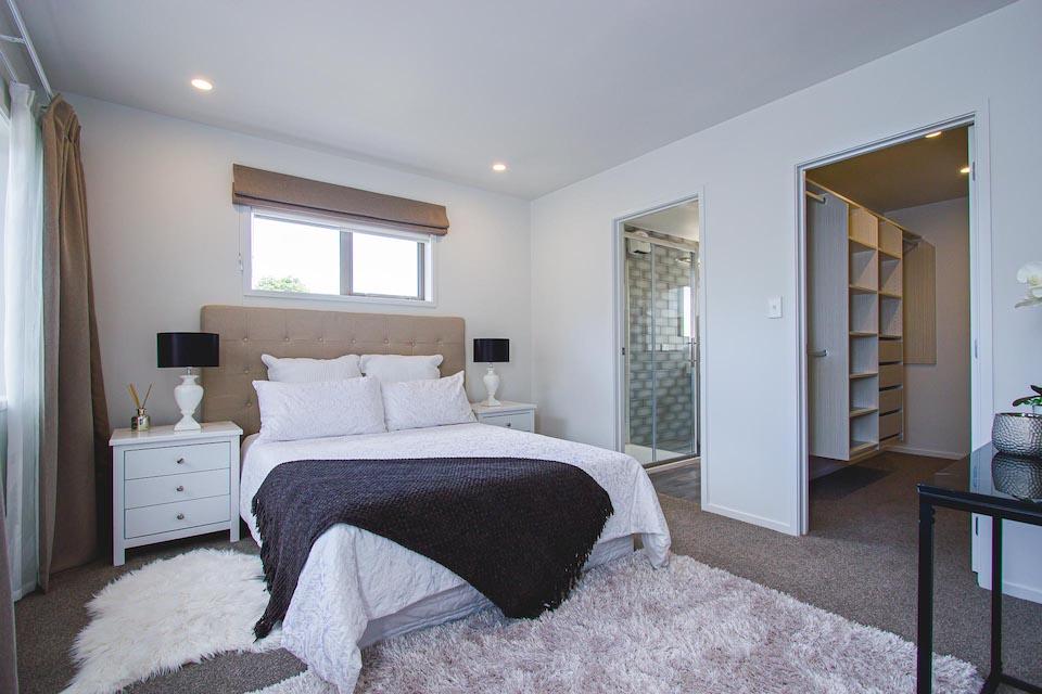 Master bedroom | Auckland New Build Harnett